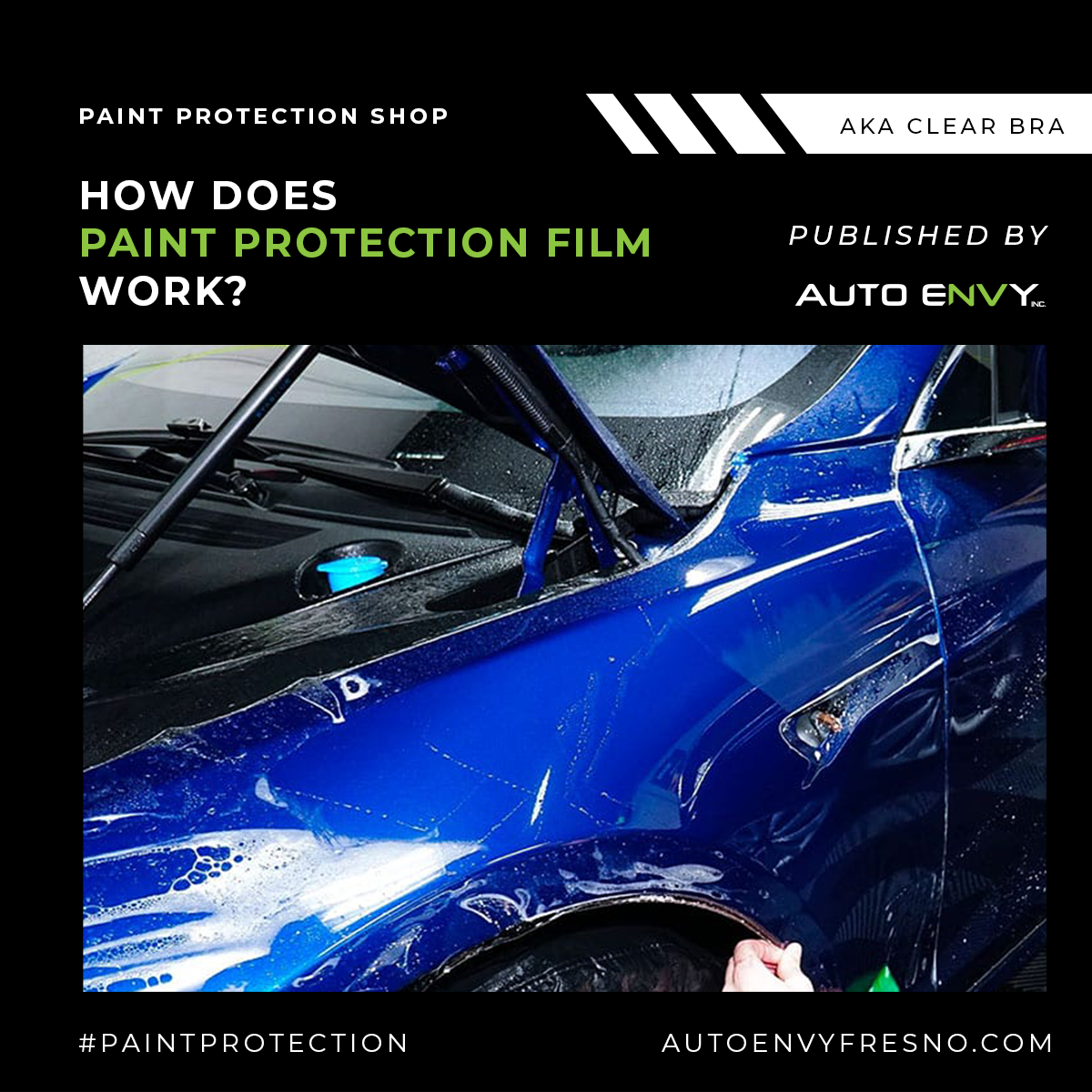 How Does Paint Protection Film Work?